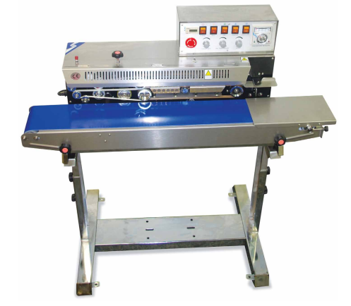 GAS FLUSH CONTINUOUS BAG SEALER - Crystal Vision Packaging